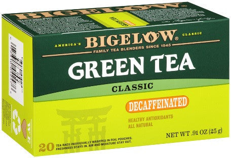 Bigelow - Green Tea Decaf (28 bags) - Tea - Tea Bags