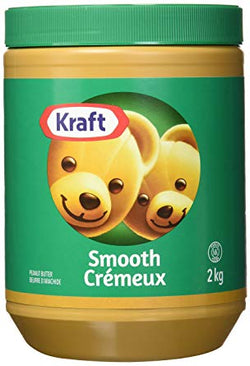 Kraft Smooth Peanut Butter (2kg)