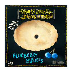 Farmer's Market  Blueberry Pie (1 kg)