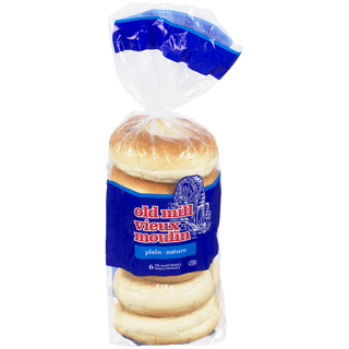Bagels Assorted Old Mill (6 pack)
