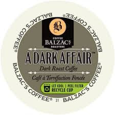 Balzac's - Balzac's A Dark Affair (24 pack) - Coffee - Pod - Recycling
