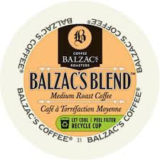 Balzac's - Balzac's Blend (24 pack) - Coffee - Pod - Recycling