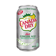 Diet Canada Dry Gingerale (12x355ml)