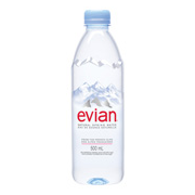 Evian Natural Spring Water (24x500ml)