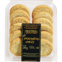 Farmer's Market Shortbread Cookies Pack 12 (372 g) $4.97 ea