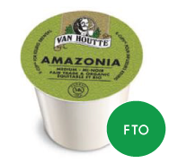 Van Houtte - Amazonia Fair Trade Organic  (24 pack)
