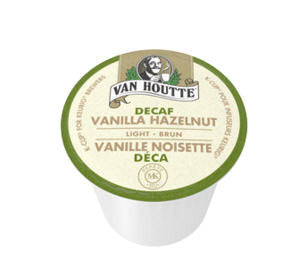 Van Houtte - Vanilla Hazelnut Decaf  (24 pack) - Coffee - Pod - Recycling