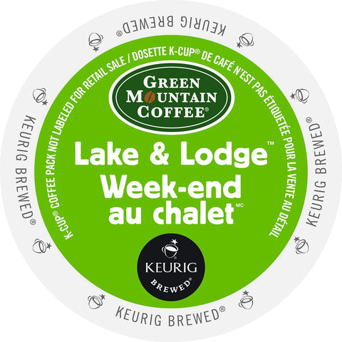 GMCR - Lake & Lodge  (24 pack) - Coffee - Pod - Recycling