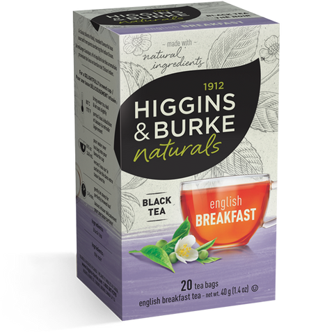 Higgins & Burke - English Breakfast (20 bags) - Tea - Tea Bags