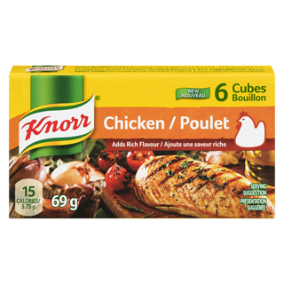 Knorr Chicken Boullion Cubes (68g)