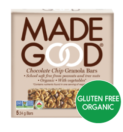 MadeGood - Chocolate Chip Granola Bars (5x24g)