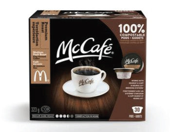 McCafe  (30 pack) - Coffee - Pod - Recycling