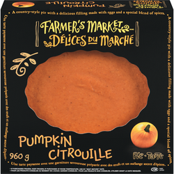 "Farmer's Market  Pumpkin Pie 10"" (960 g)"