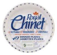 Royal Chinet - Large Paper Plates 10.38in (125 pack)