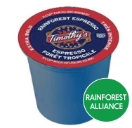 Timothy's - Rainforest Espresso  (24 pack)