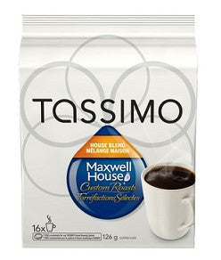 Maxwell House - Blend (16 pack) - Tassimo - Pod - Recycling