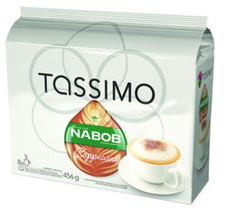 Nabob - Cappuccino (8 pack) - Tassimo - Pod - Recycling