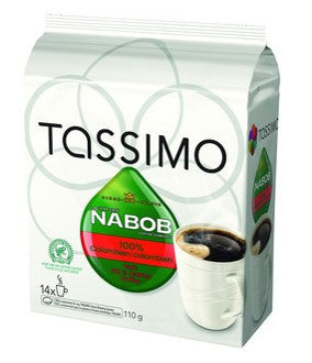Nabob - Colombian (14 pack) - Tassimo - Pod - Recycling