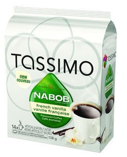 Nabob - French Vanilla (14 pack) - Tassimo - Pod - Recycling