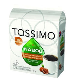 Nabob - Swiss Hazelnut (14 pack) - Tassimo - Pod - Recycling