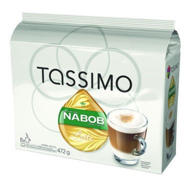 Nabob - Latte (8 pack) - Tassimo - Pod - Recycling