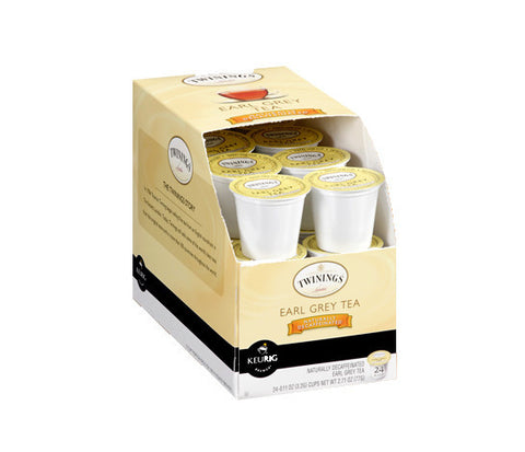 Twinings - Tea - Earl Grey Decaf  (24 pack) - Tea - Pod - Recycling