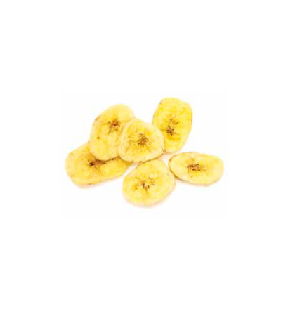 Unsweetened Banana Chips -  (one tub - 300g)