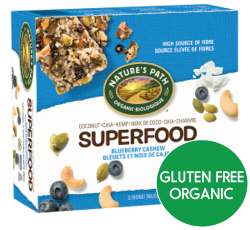 Nature's Path - Blueberry Cashew - Superfood Snack Bar (4x38g)