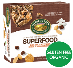 Nature's Path - Dark Chocolate Peanut - Superfood Snack Bar (4x38g)