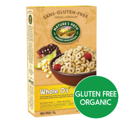 Nature's Path Cereal - Whole O's (375g)
