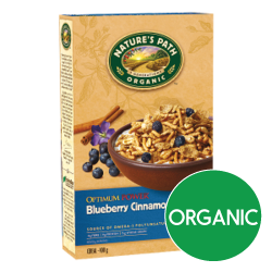 Nature's Path Cereal - Blueberry Cinnamon Flax (375g)
