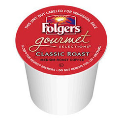 Folgers - Classic Roast  (24 pack) - Coffee - Pod - Recycling