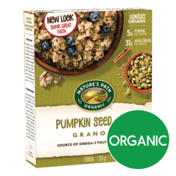 Nature's Path - Pumpkin Seed + Flax Granola