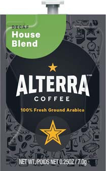 Alterra - House Blend - DECAF (20 packs)