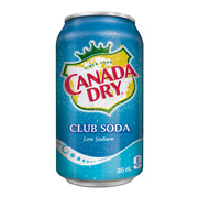 Canada Dry Club Soda  (12x355ml)