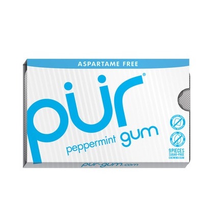 Pur - Peppermint Gum (12 packs)