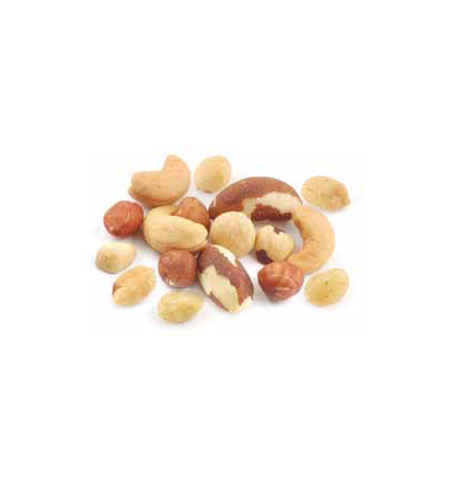 Mixed Nuts with Peanuts - No Salt (one tub - 550g)