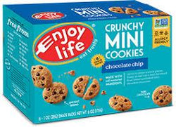 Enjoy Life- Mini Chocolate Chip Cookies (6x28g packs)