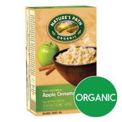 Nature's Path - Apple Cinnamon Hot Oatmeal