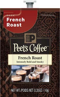 Peet's - French Roast (18 packs)