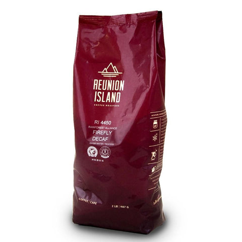 Reunion Island - Whole Bean - Firefly DECAF (2 lb)