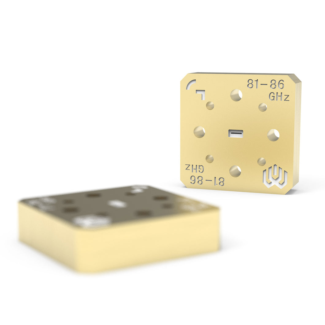 Bandpass Waveguide Filter 81-86 GHz