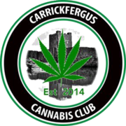 Carrickfergus Cannabis Club logo 420 UK