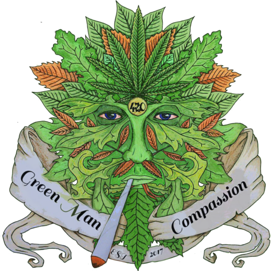 Green man Compassion online