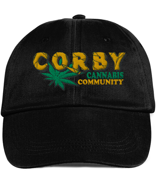 Corby Cannabis Community Low profile cap - 420UK