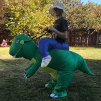 Inflatable Dinosaur T-REX Costume | Inflatable Costumes Adults| Halloween Costume | Blow Up Costume