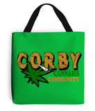 Corby Cannabis Community Tote bag - 420UK