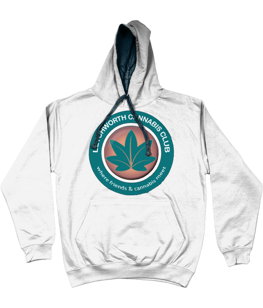 Letchworth Cannabis Club 2 Tone Hoody