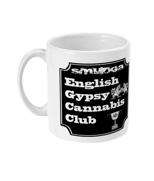 Smudga English Gypsy CC 11oz Mug
