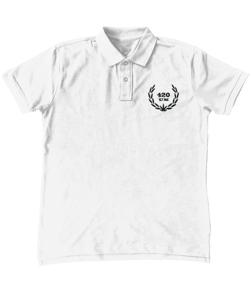 420UK Official Ebroidered Polo T-Shirt